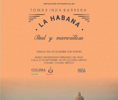 Invitan a exposición fotográfica de Tomás Inda, mañana