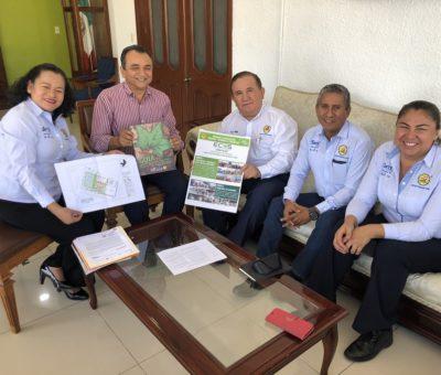 Felipe Cruz y Presidente de la CEDH Acuerdan Promover los Derechos Humanos