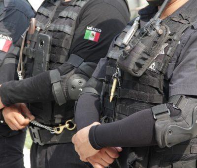 Capturan a cinco sujetos con droga: SSP