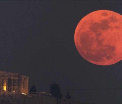 Eclipse total de luna será visible en México el 20 de enero