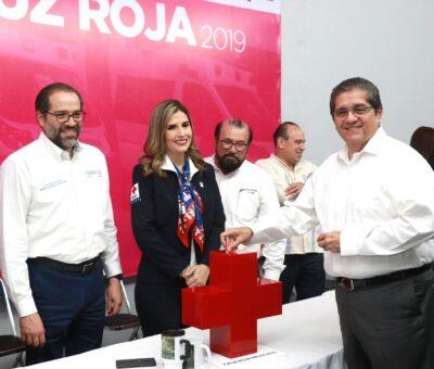 Rector, invitado al arranque de la colecta 2019 de la Cruz Roja