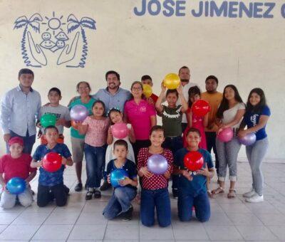 Festeja Diputado Julio Anguiano el Día del Niño en la Casa Hogar del Niño Tecomense