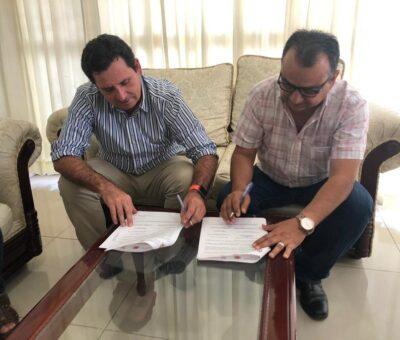 Locho y Felipe van por mejor administración en Ciapacov; firman acuerdo