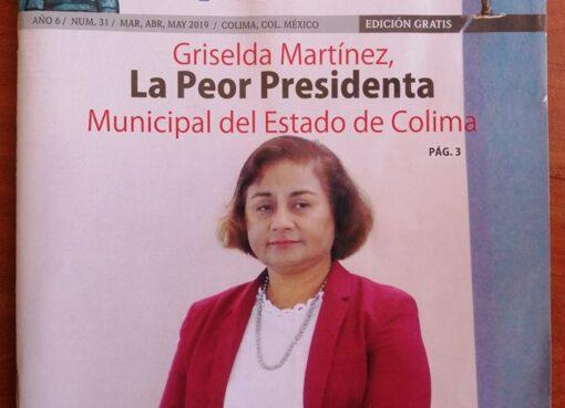 La publicación que «incomodó» a Griselda Martínez, presidenta municipal de Manzanillo