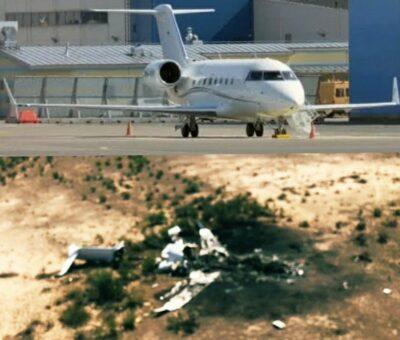 Se estrella avión con pasajeros que fueron a ver pelea del Canelo;  revelan supuesta lista