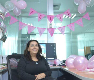 Olivia Zamora, 37 años de servicio y amor a la UdeC