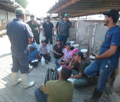 Visitan estudiantes Complejo Agropecuario Industrial de Tizayuca, en Hidalgo
