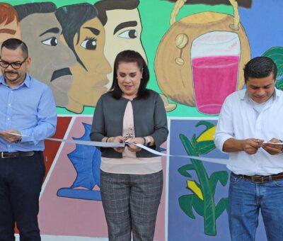 """Inaugura CEDEFU mural """"Pintando ideas"""", en el 33"""
