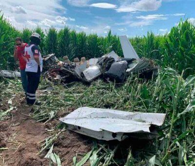 Se desploma avioneta y mueren 4 personas en Chihuahua