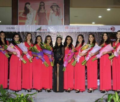 Presentan a las 10 aspirantes a reina de la  Feria de Todos los Santos, Colima 2019