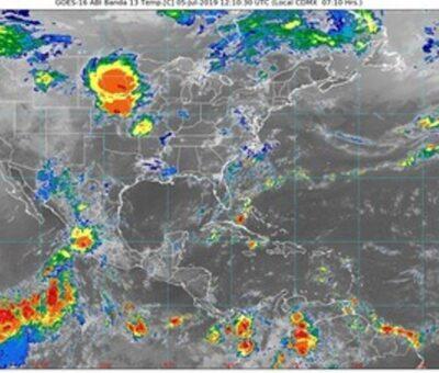 Se forma tormenta tropical frente a las costas colimenses