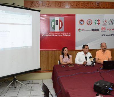 Presenta PRI estrategia digital para ayudar a reciclar y promover el desarrollo sostenible