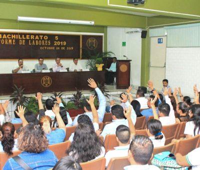 Reportan bachilleratos de Tecomán logros académicos e impacto social