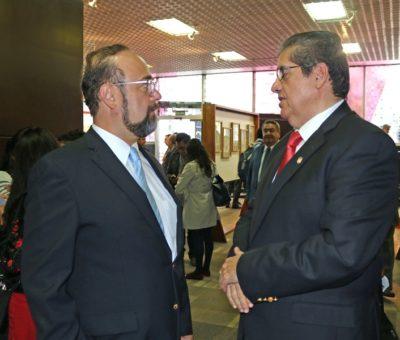 Asiste rector al Encuentro Nacional para el Fortalecimiento de la Educación Superior