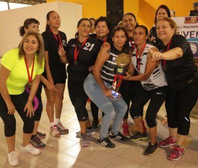 Conquistan dos equipos colimenses el Campeonato del Quinto Torneo Nacional de Cachibol 2019