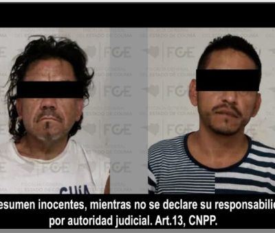 Resultan dos detenidos y droga incautada en cateo