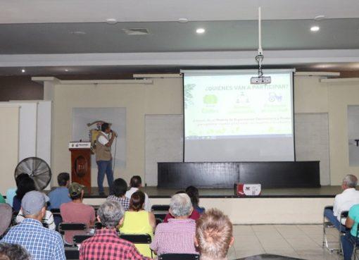 Resalta Elías Lozano importancia de apoyos ofrecidos a ejidatarios a través del programa «Sembrando vida»
