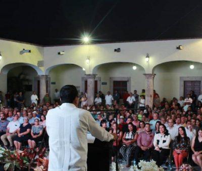 Coquimatlán está mucho mejor que hace un año: Lupe Benavides