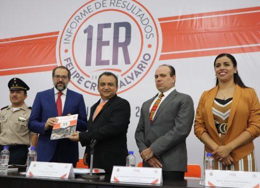 Felipe Cruz Rinde su Primer Informe de Resultados
