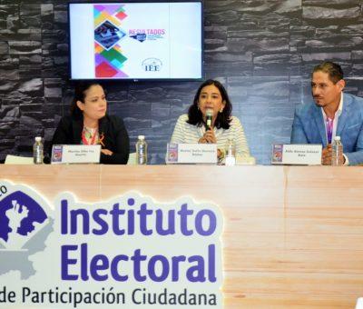 IEE Colima pone a disposición de la ciudadanía productos editoriales del Proceso Electoral Local 2017-2018