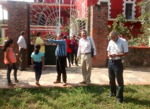 Se realizó visita guiada a 7 haciendas, sitios de gran interés histórico