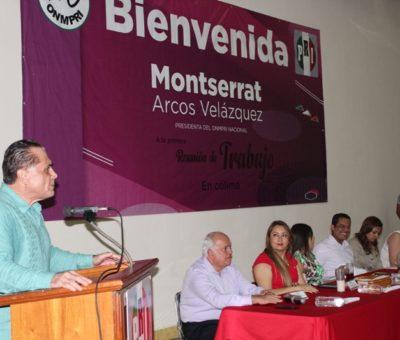 El motor que mueve al PRI son las Mujeres como las de  Colima: Líder nacional del ONMPRI