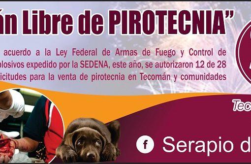 """A comisiones la  Iniciativa """"Tecomán Libre de Pirotecnia""""; Regidor Serapio de Casas"""