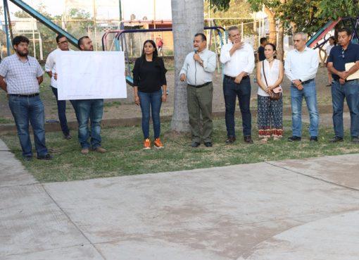 Felipe Cruz Anuncia Colector Pluvial para Acabar con Inundaciones en Glorieta de los Perritos Bailarines