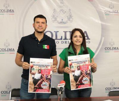 Anuncia Incode Copa Internacional de Balonmano de Playa, Volcán 2020