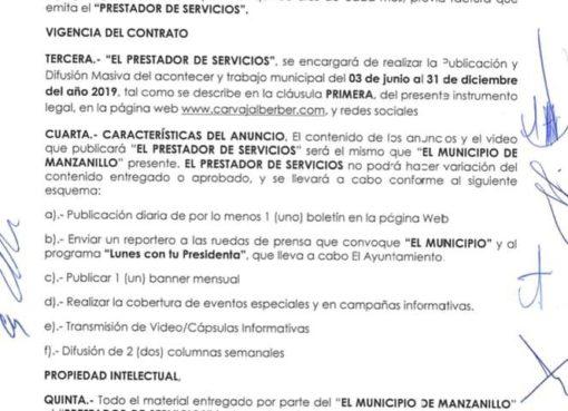 Griselda Martínez, alcaldesa de MORENA; que paga para que «no le peguen»