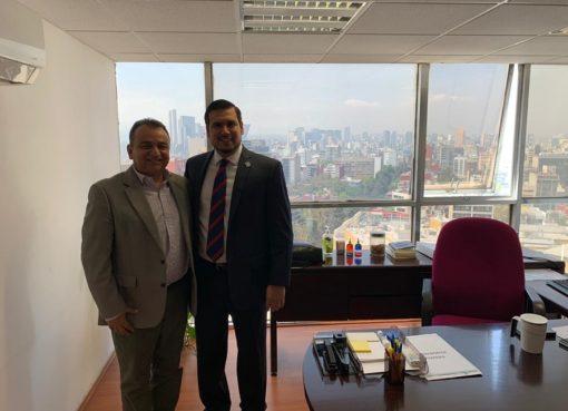 Felipe Cruz Gestiona Recursos y Coordinación para Seguridad, con el Gobierno Federal