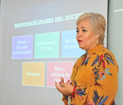 Capacita UdeC a profesores de reciente ingreso