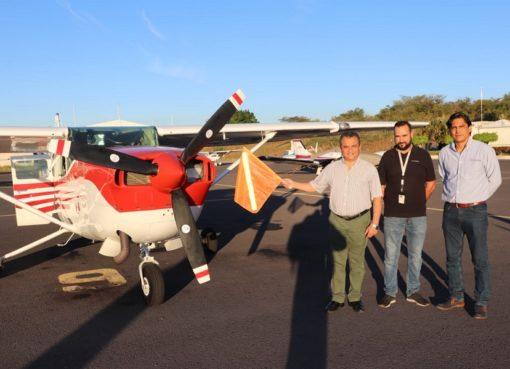 Ponen en Marcha Avioneta que Levantará Imágenes para Nueva Cartografía