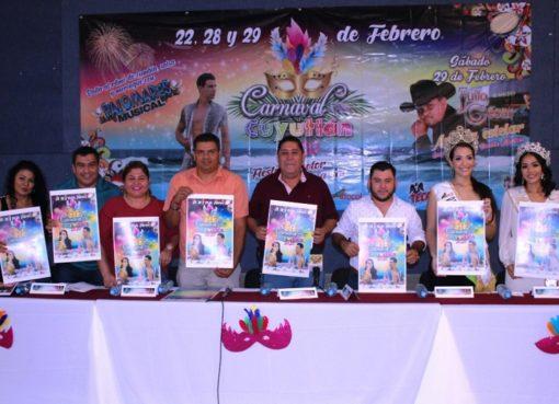 Carnaval Cuyutlán 2020 con una bolsa 44 mil pesos de premios