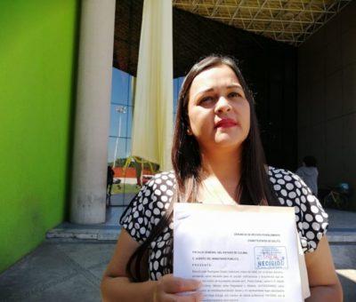 Diputada denuncia penalmente  Audelino Flores por amenazas