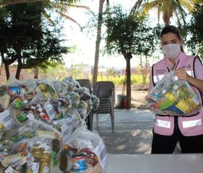 Entrega DIF dotaciones alimentarias a beneficiarios de comedores comunitarios