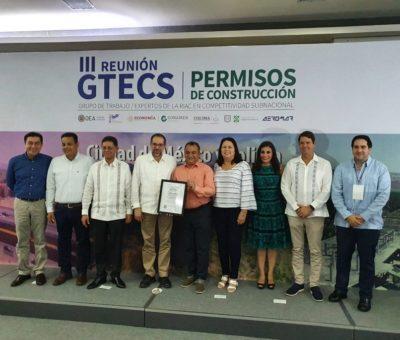 Felipe Cruz Recibió un Reconocimiento de la OEA
