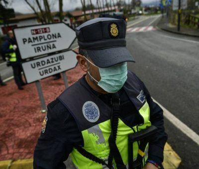 En un día, 150 muertos por coronavirus en España