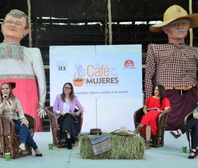 """""""Un Café por las Mujeres"""" 2020 arroja compromisos para seguir trabajando hacia la igualdad sustantiva"""