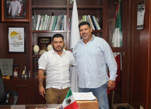 Nombran a Aldo Raúl Enríquez Rivero como nuevo director de Servicios Públicos en Armería