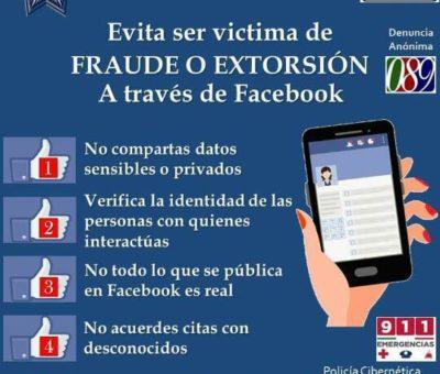 Alerta Seguridad Pública sobre llamadas de extorsión telefónica