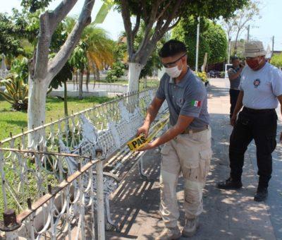 Cierra Ayuntamiento parques y jardines para evitar aglomeración de personas