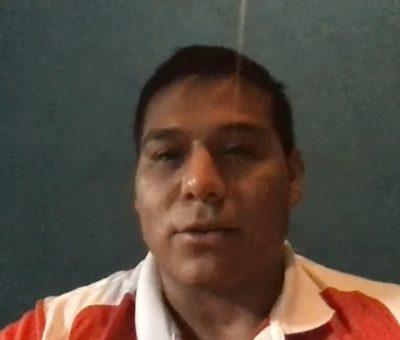 Invita el medallista Edgar Barajas a cumplir  con medidas de prevención contra el Covid-19