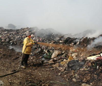 Acumulación de vapores, las causas de incendios en relleno sanitario: PC