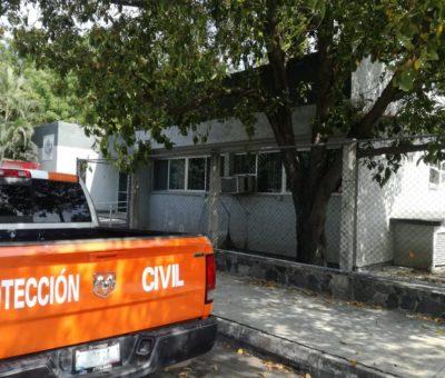 Dispone Tecomán de 25 refugios y 1 albergue para enfermos de Covid -19 por temporal de lluvias