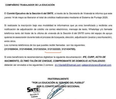 Corrupción y práctica monopólica en el SNTE VI, en venta de viviendas