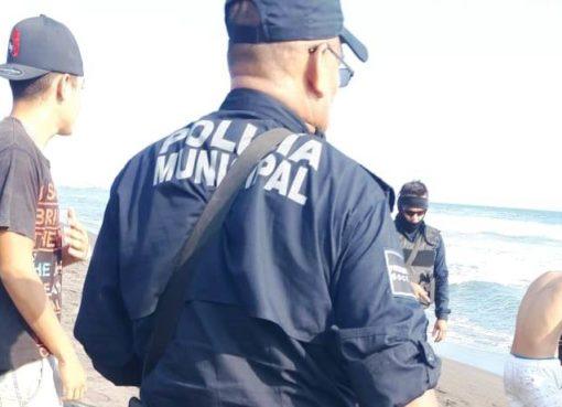 Debido a la niña ahogada, acuerdan restringir acceso a la playa a bañistas