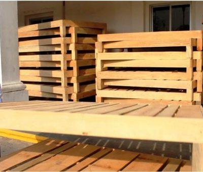 Implementa Salvador Bueno programa de bases de cama a bajo costo
