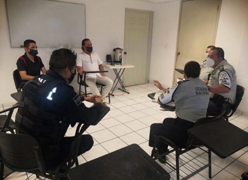 Prevención del Delito municipal trabaja coordinadamente con la Guardia Nacional