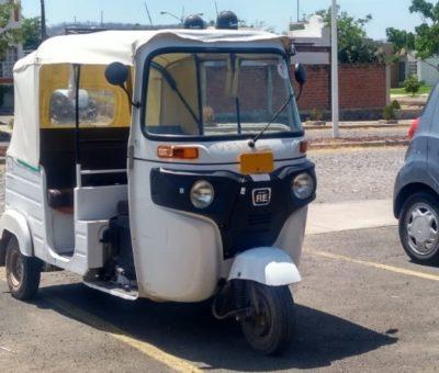 Mototaxis trabajan fuera de ley: Movilidad